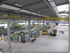 Ankunft in Polen-Konin 04 Werkshalle