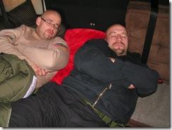 Auf dem Weg nach Radeberg Twin Sleeping
